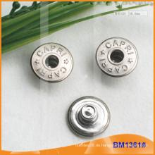 Metallknopf, benutzerdefinierte Jean Buttons BM1361
