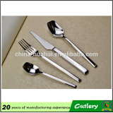 Wedding flatware sliver plated cutlery set staninless steel cutlery