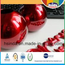 Novo Alto Brilho Candy Red Transparent Powder Coating
