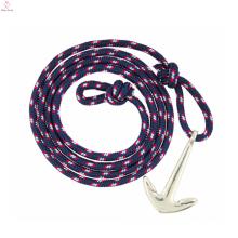 2017 дешево военно-морского флота ветра парусный спорт пиратский якорь легкие тканые браслет для мужчин или женщин