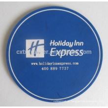 Coaster de logotipo de marca, coaster de promoção de nome personalizado