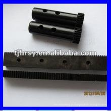 Módulo 1 engrenagem e cremalheira com óxido preto