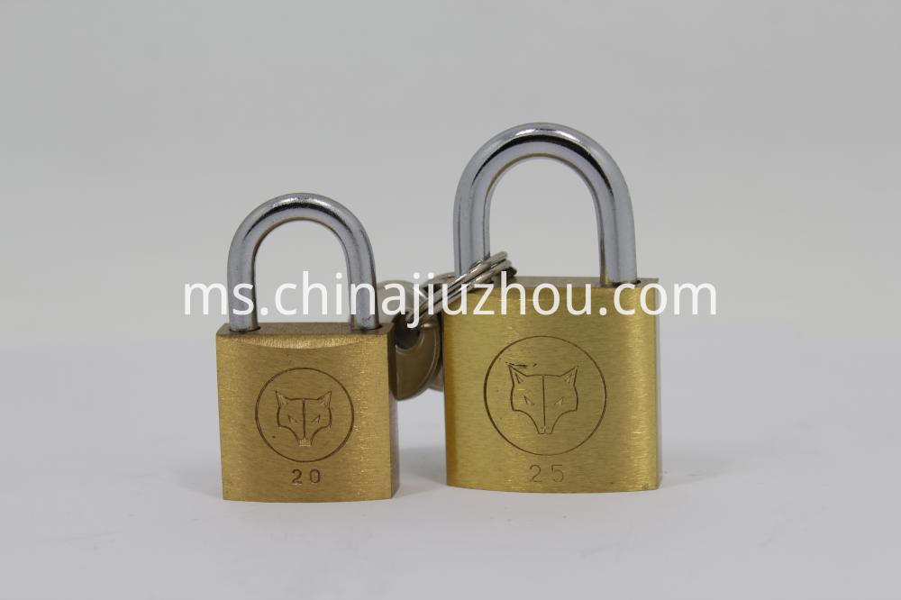30mm High Quality High Grade Brass Padlock