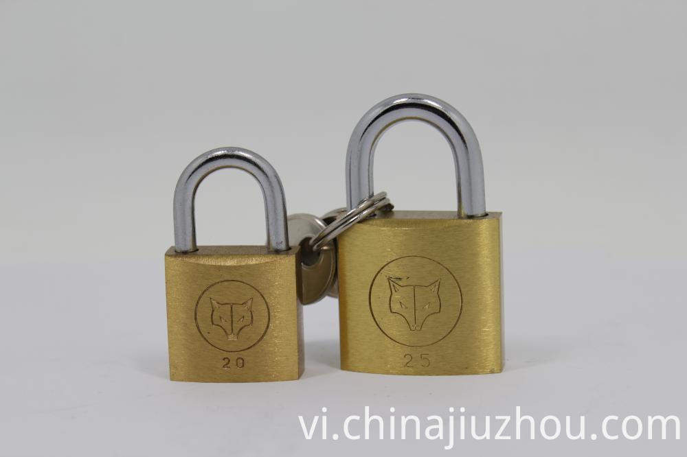25mm Heavy Duty Thick Type Brass Padlock