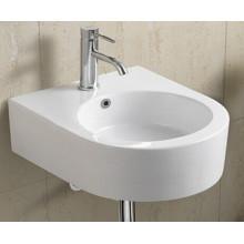 Керамическая настенная раковина для ванной комнаты (1020)