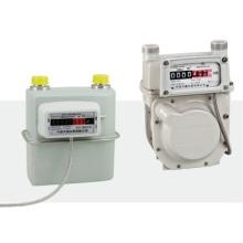 Sistema de medición de gas de transmisión remota con cable de lectura directa