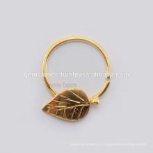 Позолоченные перегородки носа кольцо ювелирных поставщики, Оптовая Пирсинг кольцо в носу ювелирных изделий