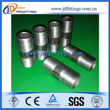Black NPT ASTM A53 Steel Barrel Nipple