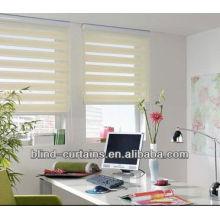 Einfache Zebra Rollo / praktische Fenstertöne