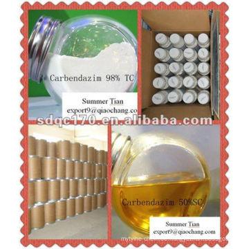 Carbendazim 98% TC, 60% WP, 50% WP, 50% SC