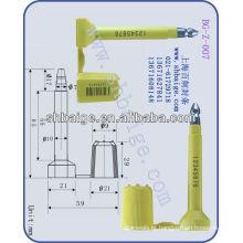 selo de logística de carga BG-Z-007, selo de contêiner