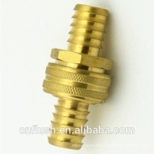 Brass water hose barb fittings