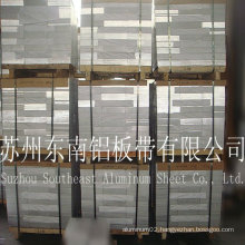 Hot sale! blue film Aluminum Sheet 8011 H24