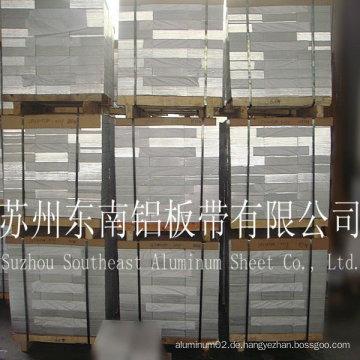 Schlussverkauf! Blauer Film Aluminiumblech 8011 H24