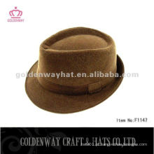 Chapéu de festa de lã para chapéu de chapéu de fedora