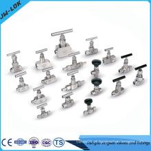 Válvula de atuador de aço inoxidável de alta pressão