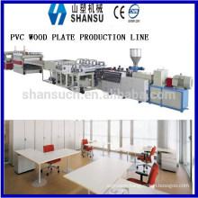 2014 SHANSU PVC FOAM BOARD MACHINE FOR CABINET
