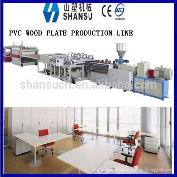 2014 SHANSU PVC FOAM BOARD MASCHINE FÜR CABINET