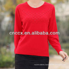 13STC5062 top selling ladies cashmere jumper