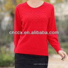 13STC5062 top vendendo senhoras jumper de caxemira