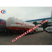 2015 high safety 2 axles and 3 axles cheap lpg gas trailer,china lpg tank semi trailer factory
