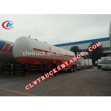 2015 высокая безопасность 2 оси и 3 моста дешевый газовый прицеп lpg, china lpg tank semi trailer factory