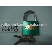 Tipo arco verde cor padlock ferro