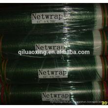silagem de feno de agricultura envoltório de rede de fardo de plástico