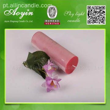 10 * 10 Red Unscented Tearless pilar vela para o Chile