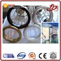 Collecteur de poussière d'usine de ciment de sac de filtre de prix industriel