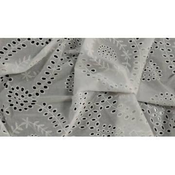100% cotton poplin plain dyed fabric