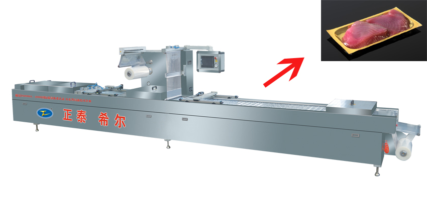 Food Vacuum Packing Machine with Auto Forming1