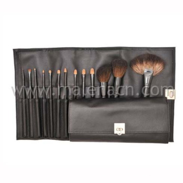 Black 13PCS Professional Makeup Cosmetic Brushes with Pouch