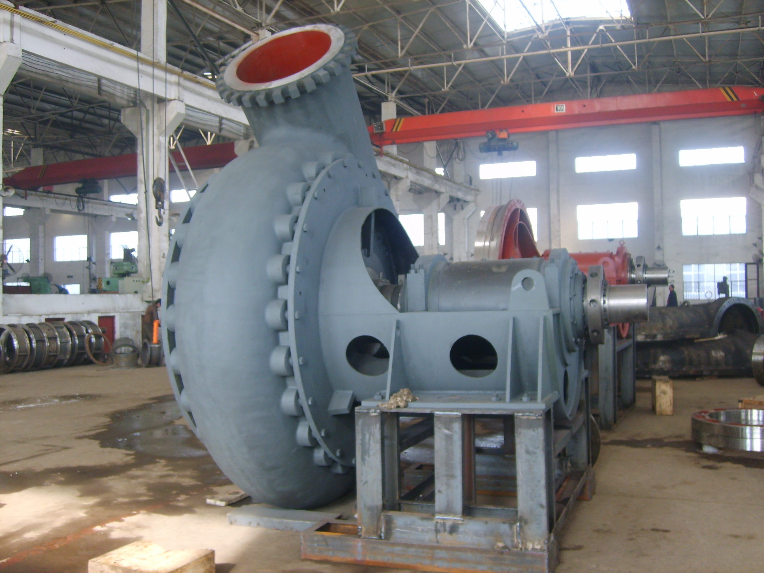 mineral processing centrifugal dredging pump