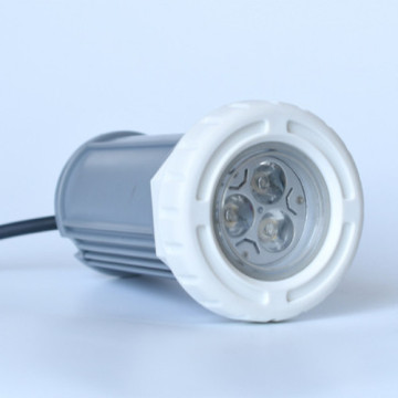 Einfache Morden White Vinyl Pool Light