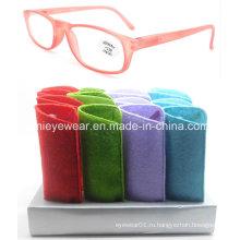 Мода Пластиковые очки для чтения (DPR015)