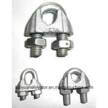 Clamp DIN 741 U pour matériel