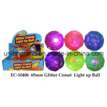 65mm Glitzer Komet leuchten Ball