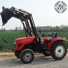 Traktor Lawn dengan Mini Front end Loader