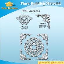 Exquisite decoration material pu 3D wall accents for interior design