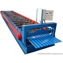Máquina formadora de rolo de painel de telhado de telha de aço colorida