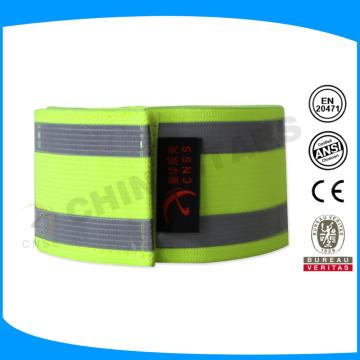 Bracelete reflexo tamanho personalizado personalizado para runing, ciclismo