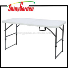 Plastic Folding Table, Folding Picnic Table, Portable Folding Table,4'