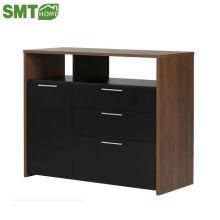 Современный буфет / деревянный простой дизайн шкафа с витриной
