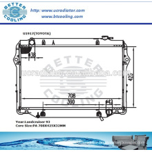 DPI Radiator For TOYOTA LANDCRUISER 93 OEM:1640066040