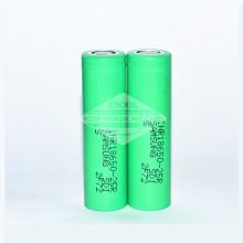 Samsung 25r 2500mAh 18650 3.7 v bateria recarregável