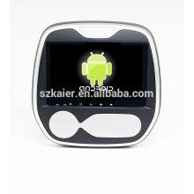 Горячая!автомобильный DVD с зеркальная связь/видеорегистратор/ТМЗ/obd2 для 9-дюймовый сенсорный экран четырехъядерный 4.4 Рено captur системы Android