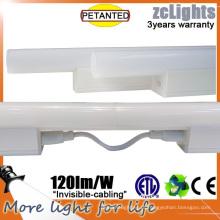 4000k Driver Interno 120cm 15W 2835 Linkable luzes Linear LED do armário