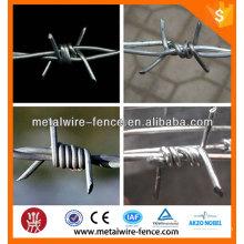2016 Shengxin hot dip cerca arame farpado fábrica