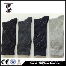 Men fashionable sports socks jacquard cotton compression sport socks